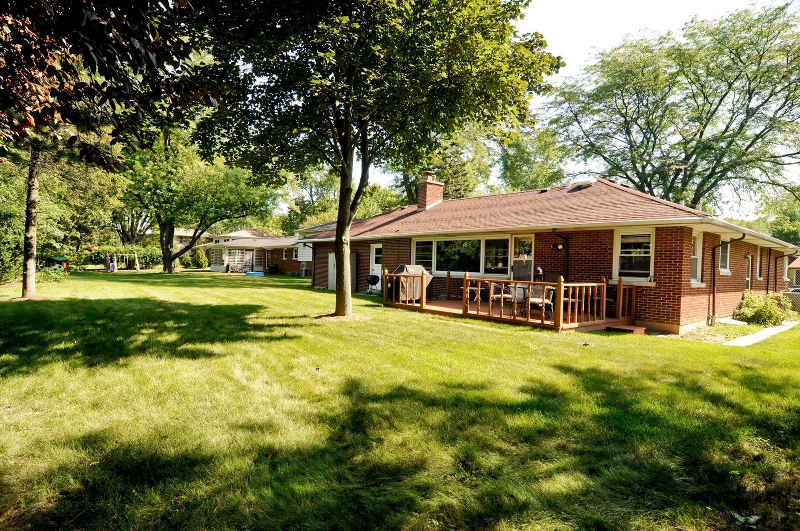 Real Estate Photography - 240 Sharon Dr, Barrington, IL, 60010 - Rear View