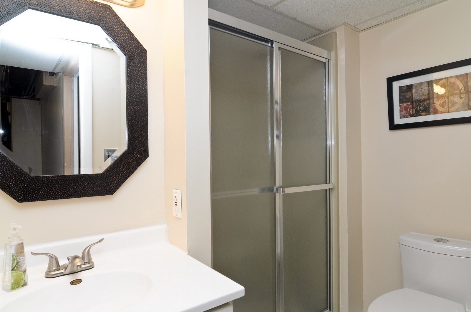 Real Estate Photography - 240 Sharon Dr, Barrington, IL, 60010 - Bathroom
