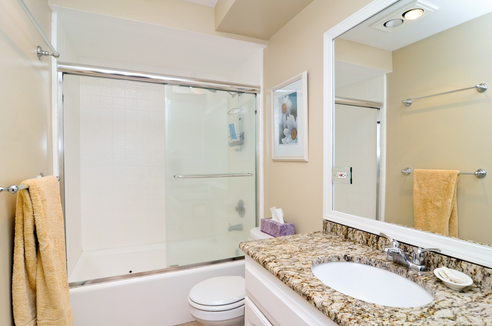 Real Estate Photography - 240 Sharon Dr, Barrington, IL, 60010 - 2nd Bathroom