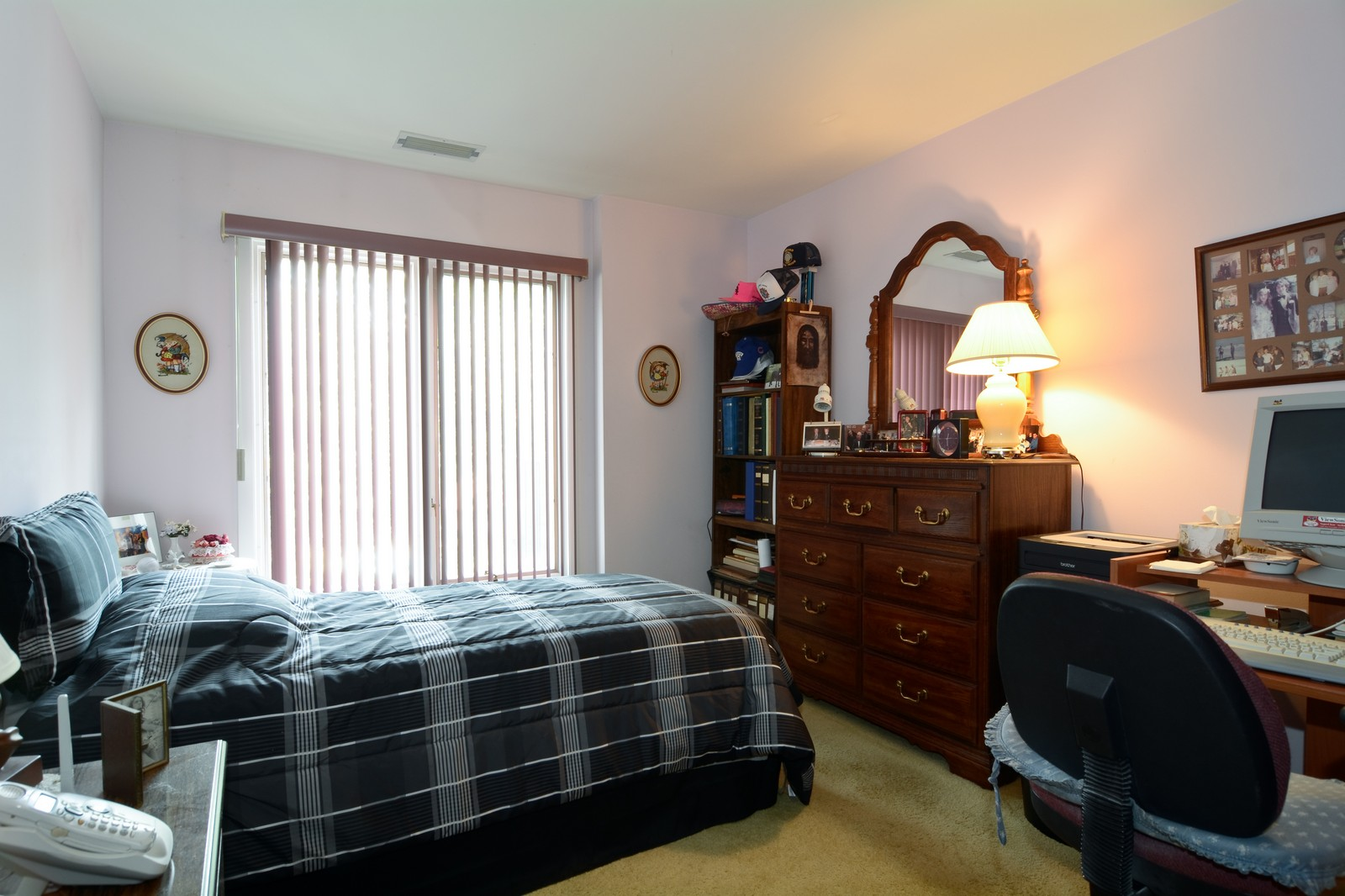 Real Estate Photography - 6545 S Main St, Downers Grove, IL, 60516 - Bedroom