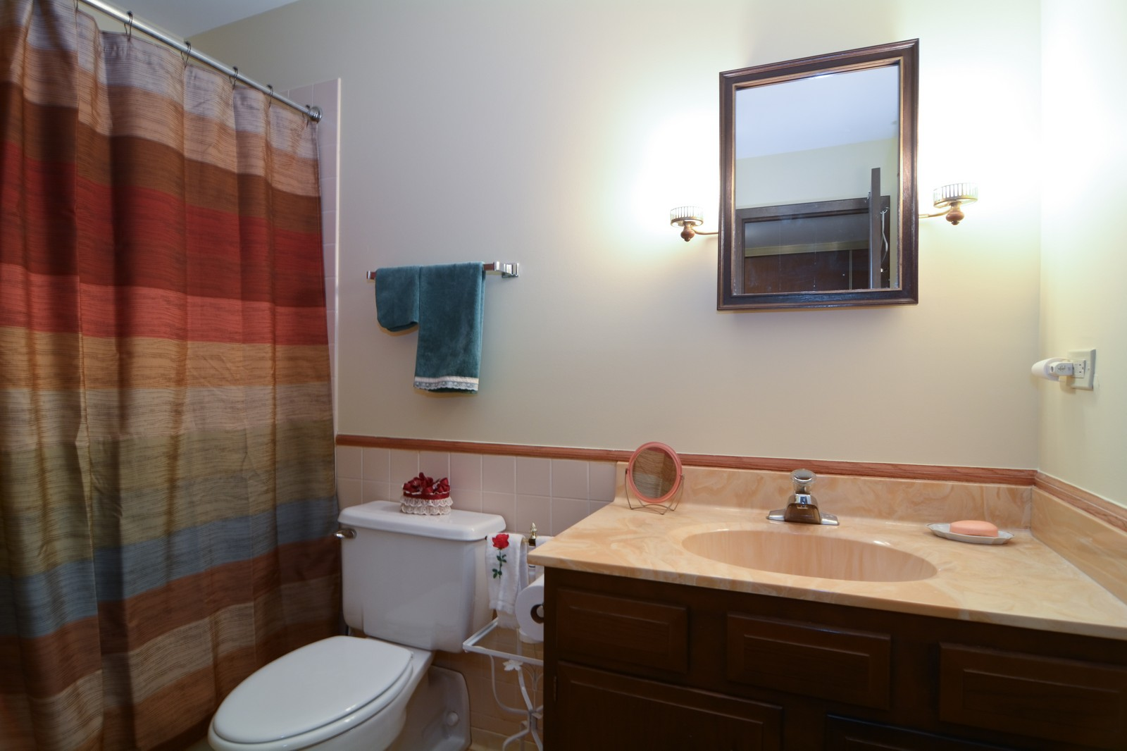 Real Estate Photography - 6545 S Main St, Downers Grove, IL, 60516 - Bathroom