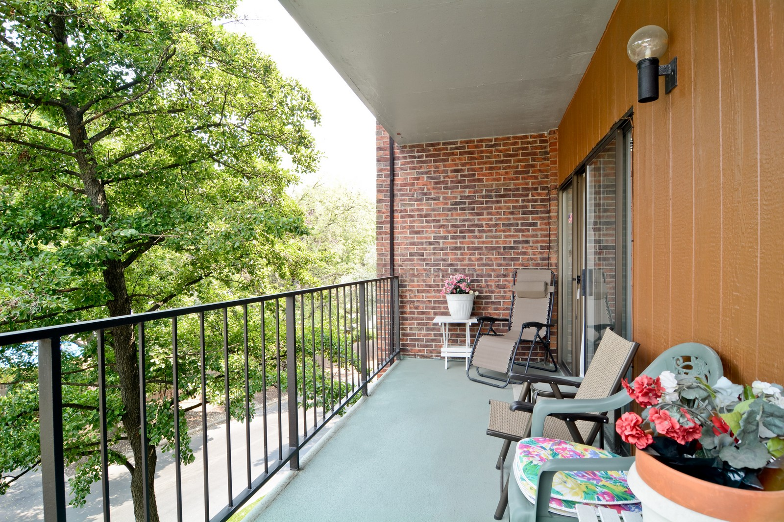 Real Estate Photography - 6545 S Main St, Downers Grove, IL, 60516 - Balcony