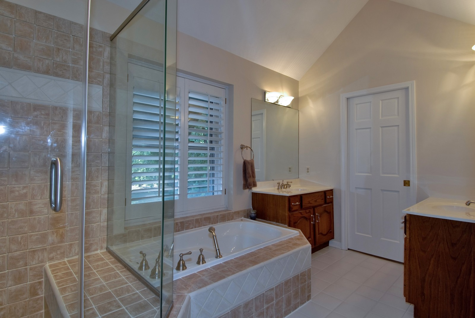 Real Estate Photography - 335 Persimmon Dr, St Charles, IL, 60174 - Master Bathroom