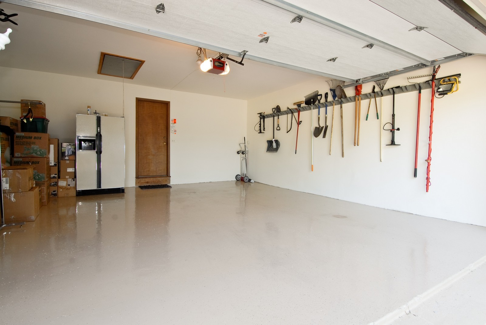 Real Estate Photography - 335 Persimmon Dr, St Charles, IL, 60174 - Garage