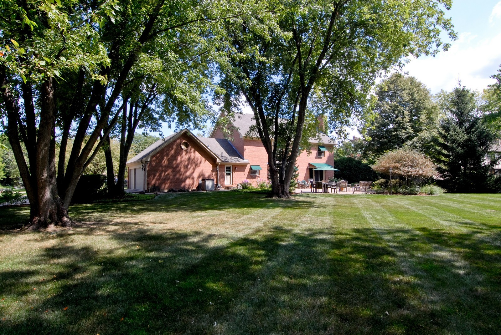 Real Estate Photography - 335 Persimmon Dr, St Charles, IL, 60174 - Rear View