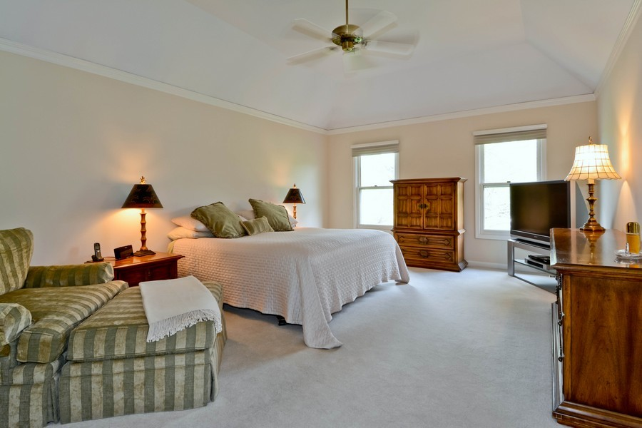 Real Estate Photography - 335 Persimmon Dr, St Charles, IL, 60174 - Master Bedroom