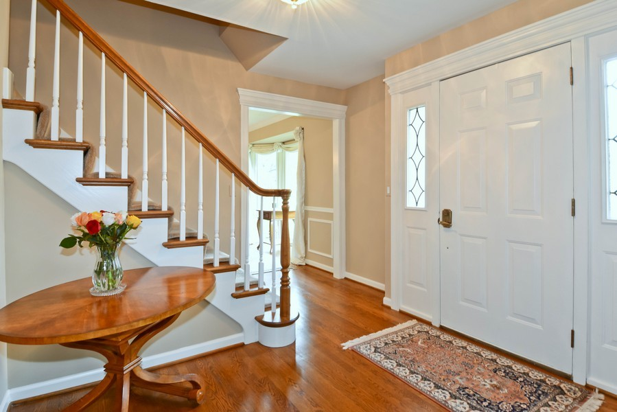 Real Estate Photography - 335 Persimmon Dr, St Charles, IL, 60174 - Foyer