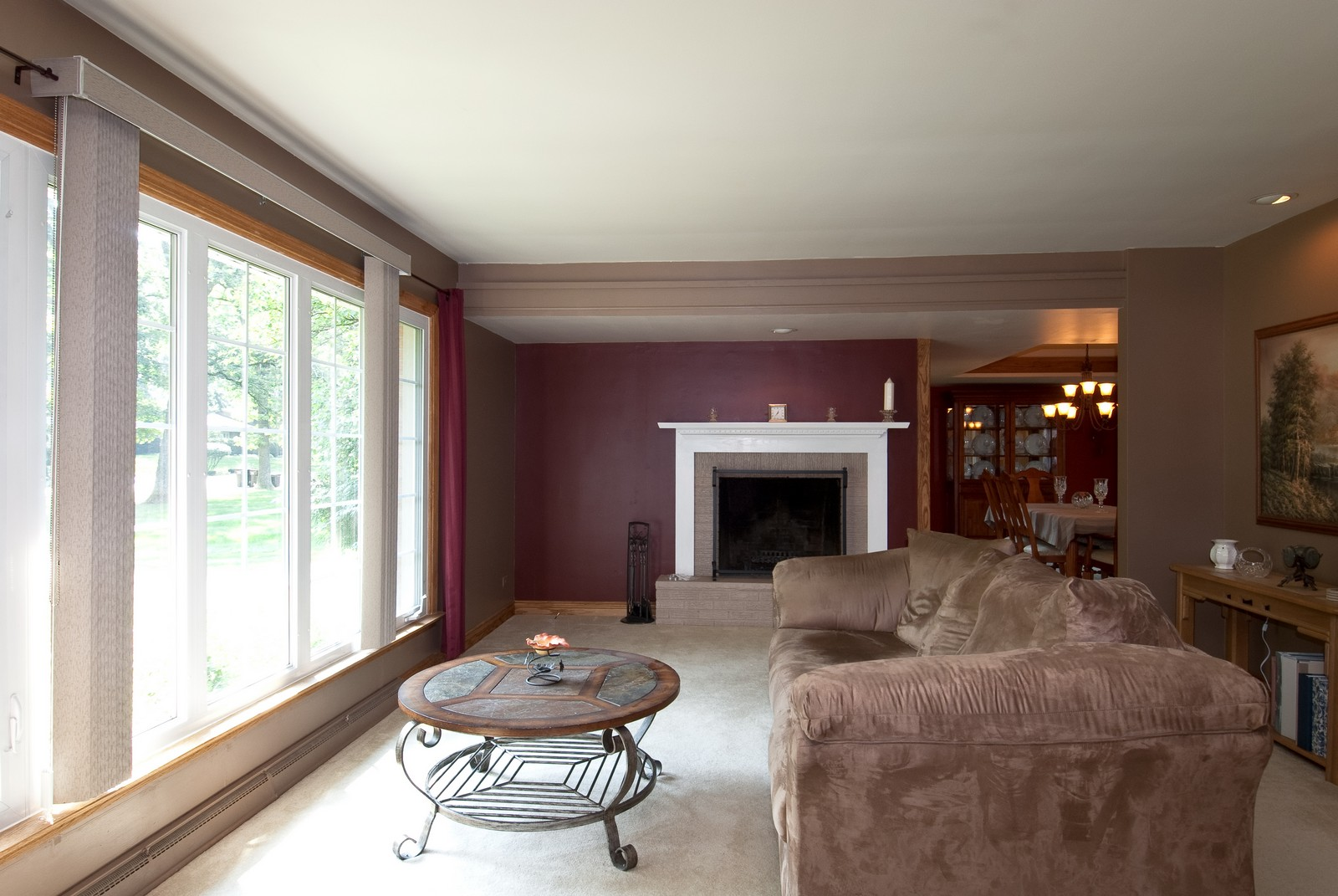 Real Estate Photography - 4603 Wild Cherry Rd, Crystal Lake, IL, 60014 - Living Room