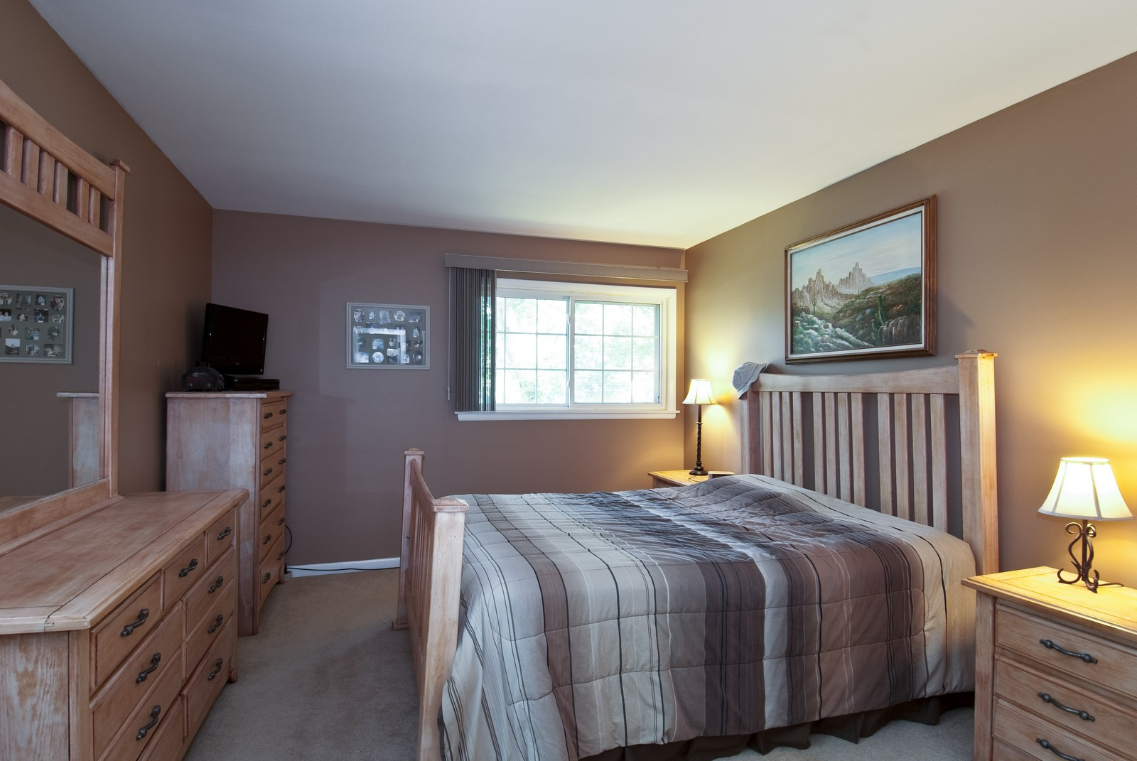 Real Estate Photography - 4603 Wild Cherry Rd, Crystal Lake, IL, 60014 - Master Bedroom
