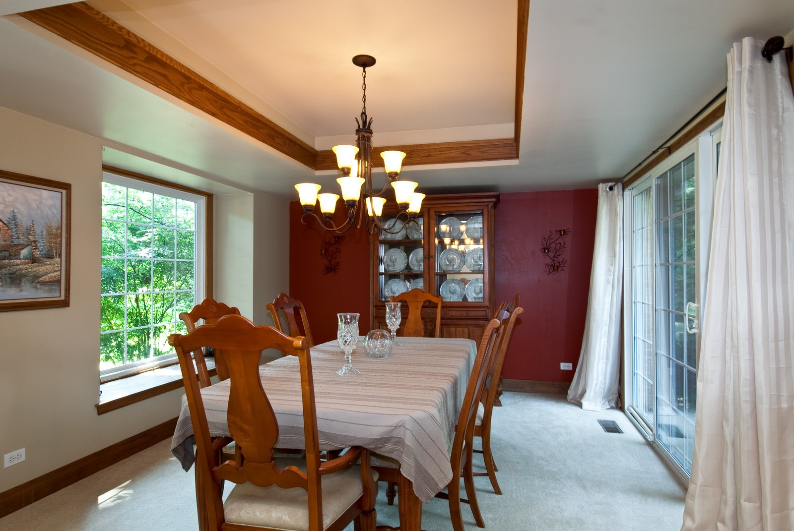 Real Estate Photography - 4603 Wild Cherry Rd, Crystal Lake, IL, 60014 - Dining Room