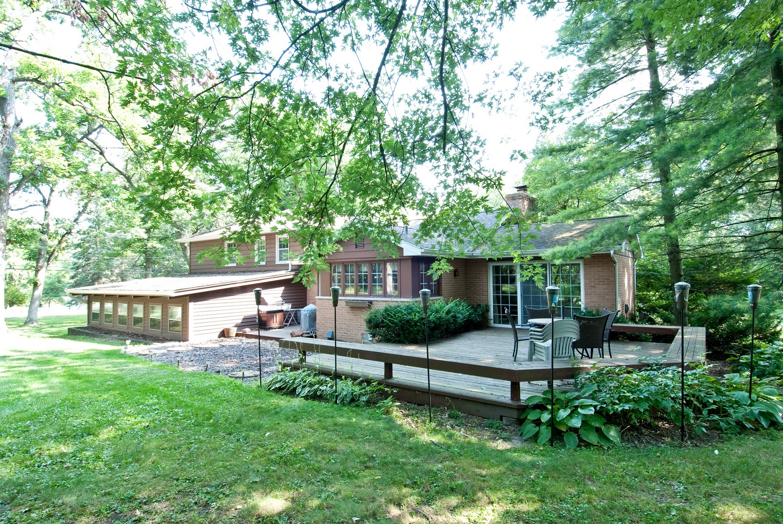 Real Estate Photography - 4603 Wild Cherry Rd, Crystal Lake, IL, 60014 - Rear View