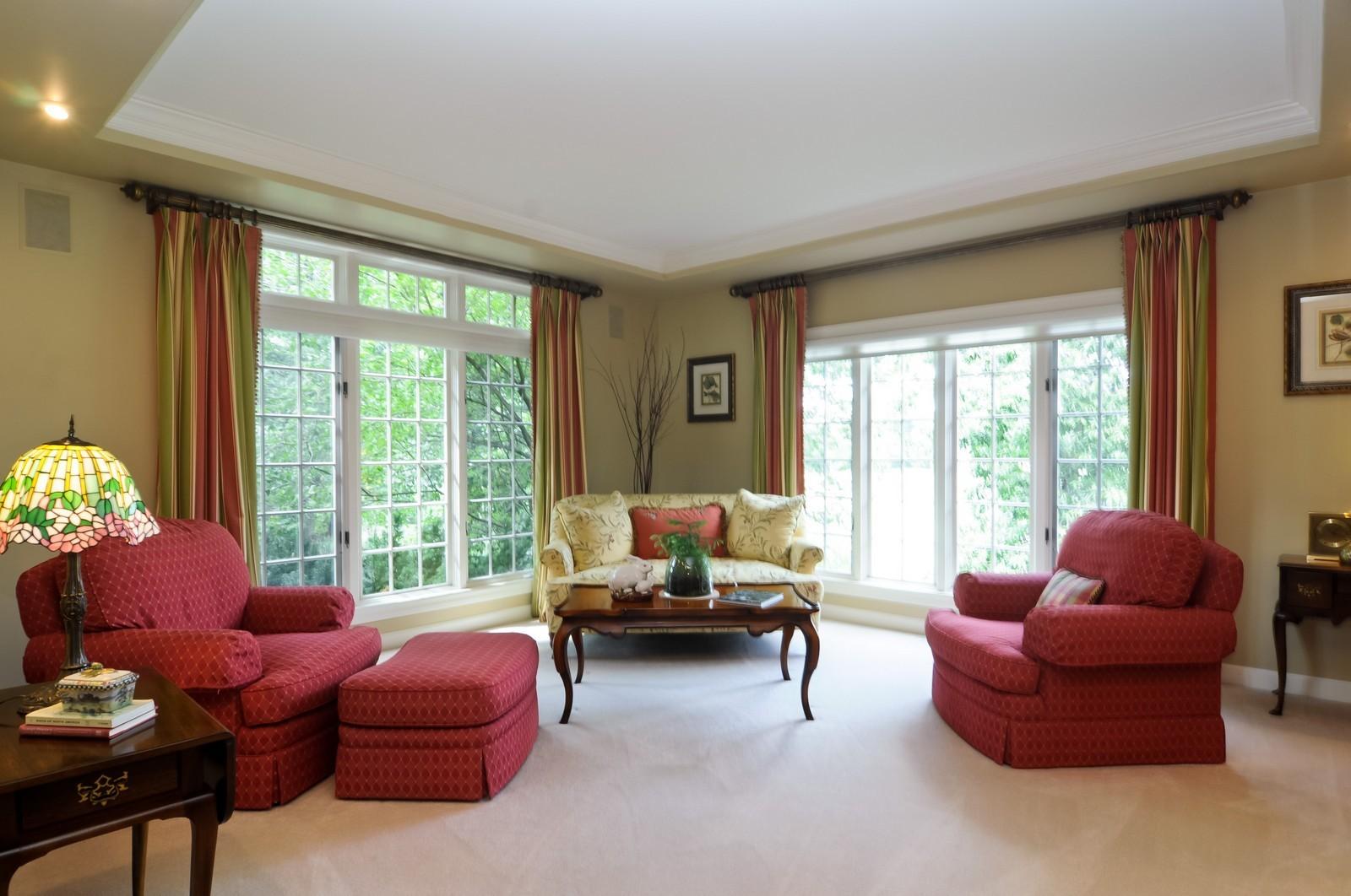 Real Estate Photography - 22822 Glenhurst Rd, Deer Park, IL, 60010 - Living Room