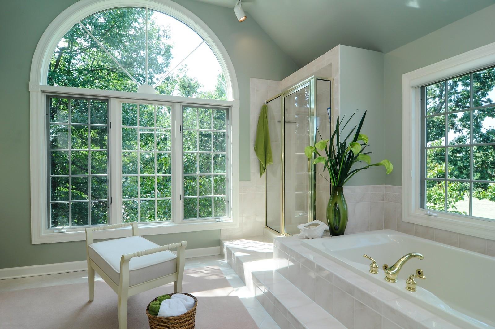Real Estate Photography - 22822 Glenhurst Rd, Deer Park, IL, 60010 - Master Bathroom