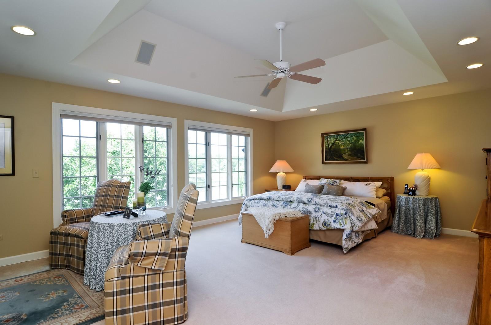 Real Estate Photography - 22822 Glenhurst Rd, Deer Park, IL, 60010 - Master Bedroom