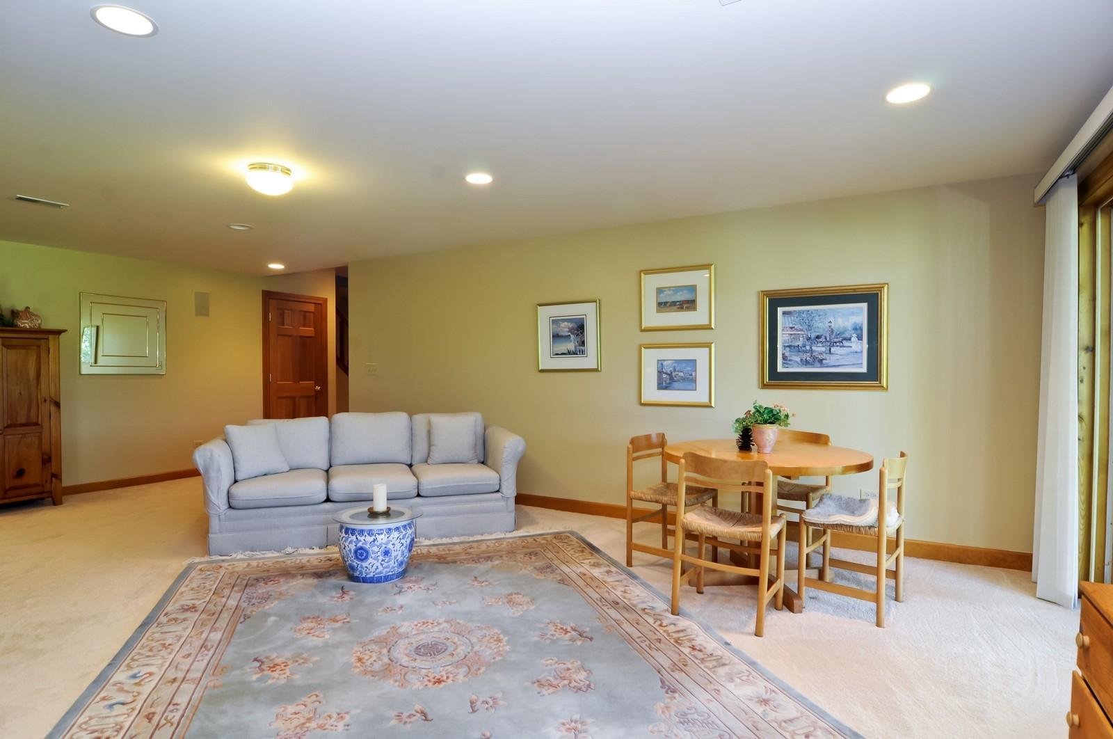 Real Estate Photography - 22822 Glenhurst Rd, Deer Park, IL, 60010 - Lower Level