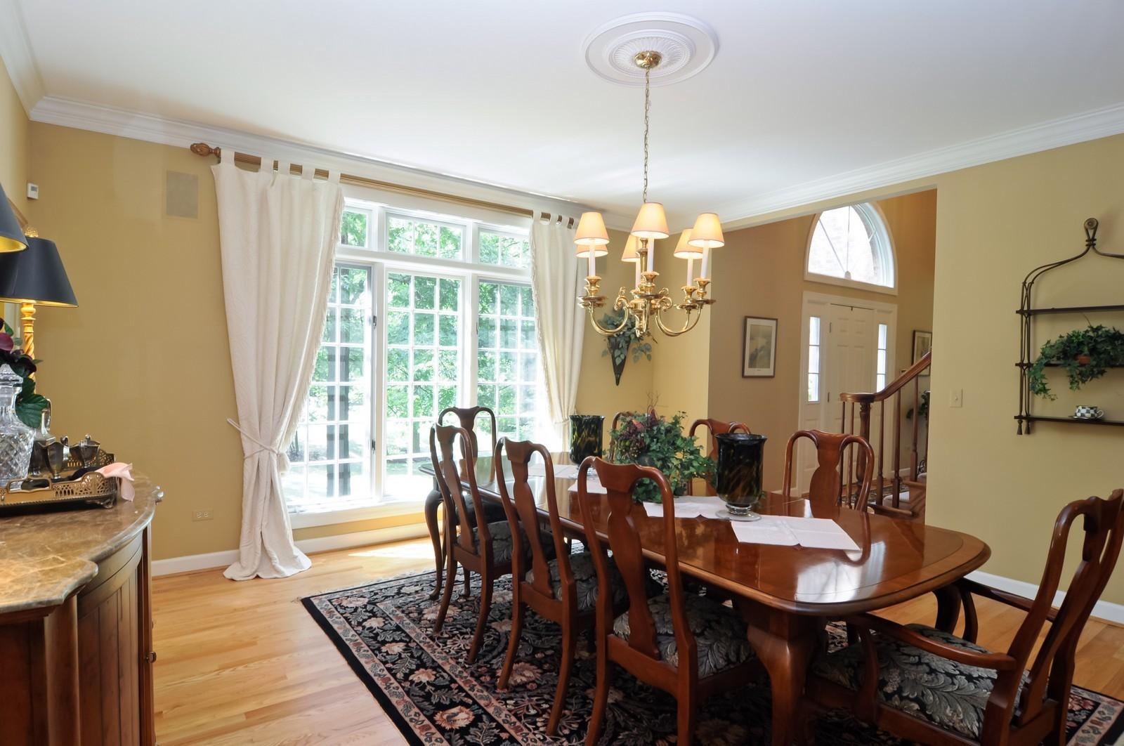 Real Estate Photography - 22822 Glenhurst Rd, Deer Park, IL, 60010 - Dining Room
