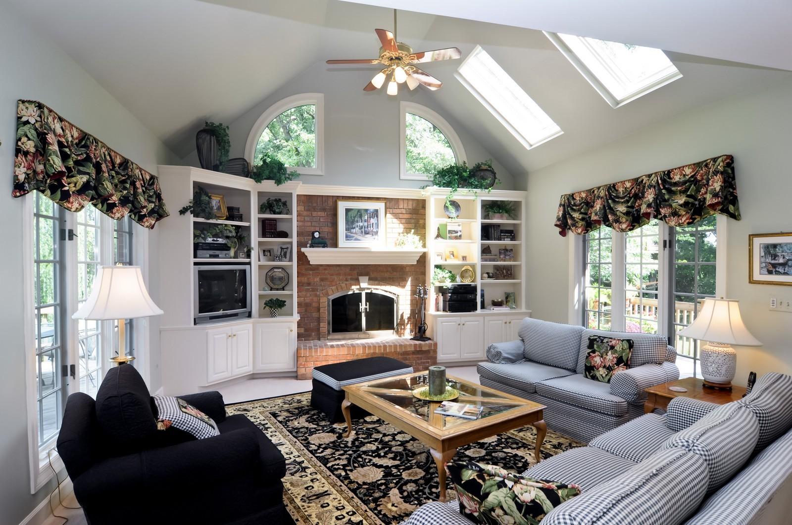 Real Estate Photography - 22822 Glenhurst Rd, Deer Park, IL, 60010 - Family Room