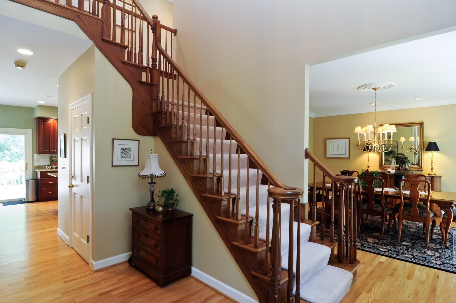 Real Estate Photography - 22822 Glenhurst Rd, Deer Park, IL, 60010 - Foyer