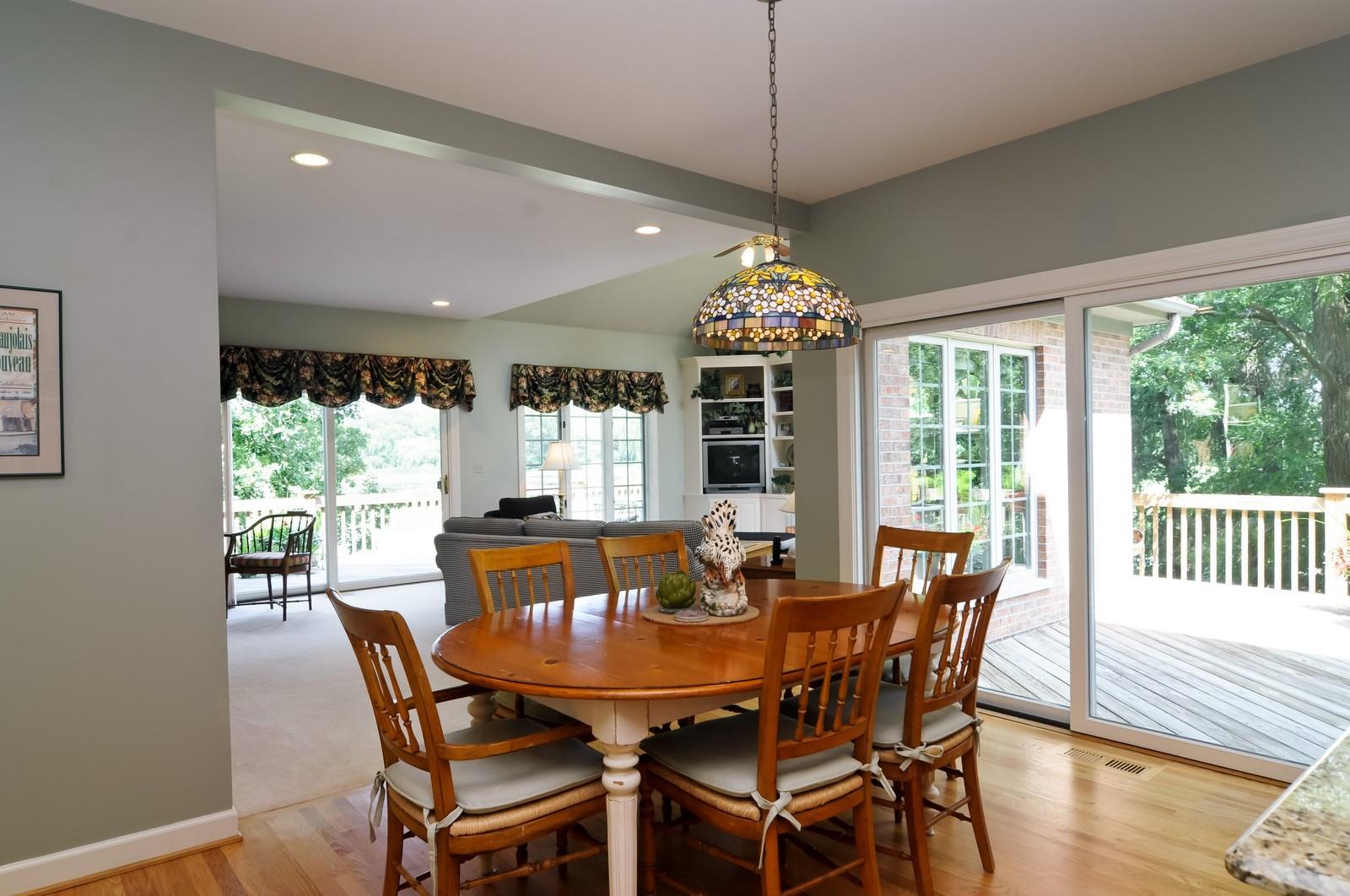 Real Estate Photography - 22822 Glenhurst Rd, Deer Park, IL, 60010 - Breakfast Nook