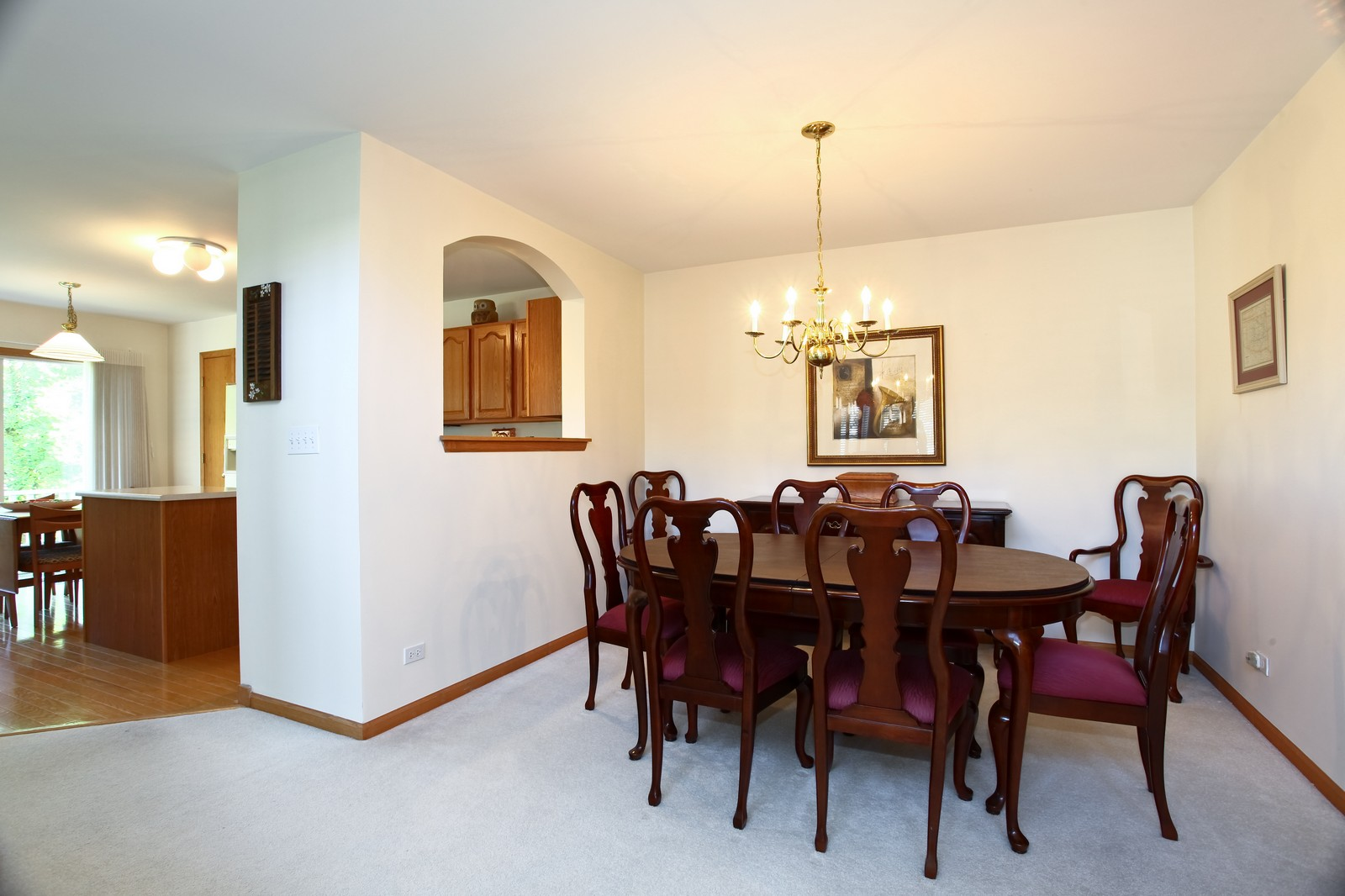Real Estate Photography - 860 McKenzie Station Dr, Lisle, IL, 60532 - Dining Room