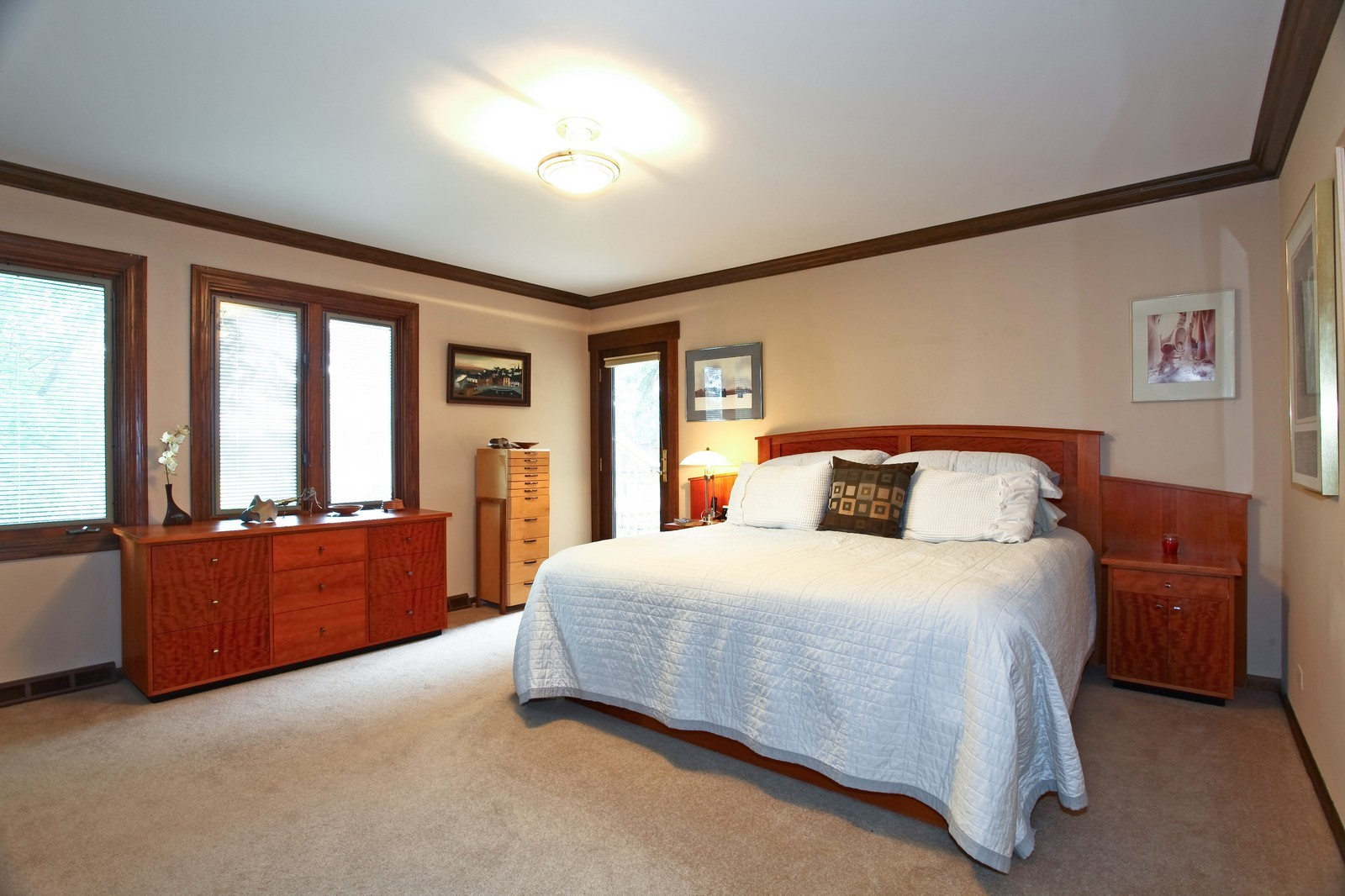 Real Estate Photography - 5332 Riverview Dr, Lisle, IL, 60532 - Master Bedroom