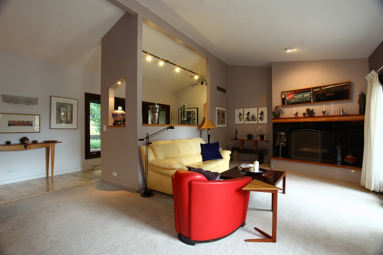 Real Estate Photography - 5332 Riverview Dr, Lisle, IL, 60532 - Living Room