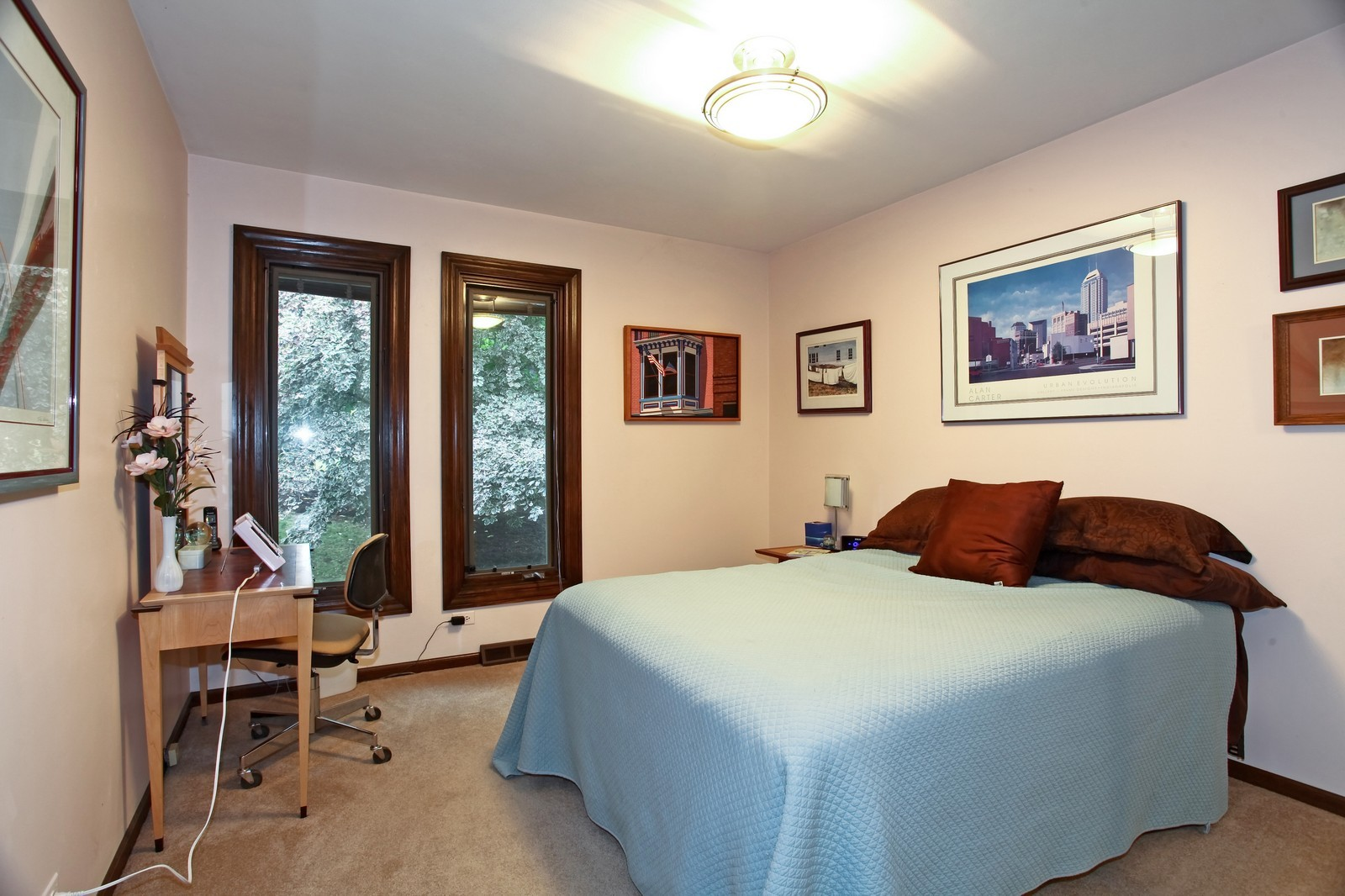 Real Estate Photography - 5332 Riverview Dr, Lisle, IL, 60532 - Bedroom
