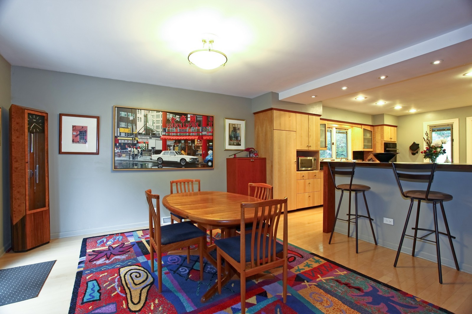 Real Estate Photography - 5332 Riverview Dr, Lisle, IL, 60532 - Dining Room