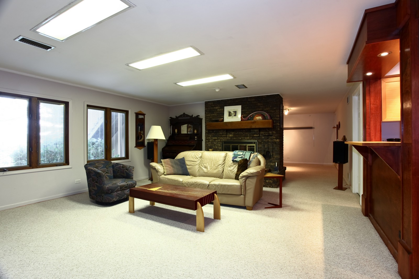 Real Estate Photography - 5332 Riverview Dr, Lisle, IL, 60532 - Family Room