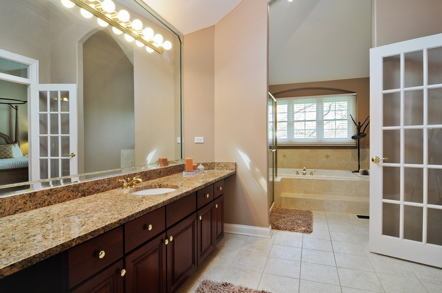 Real Estate Photography - 127 Cranberry Ct, Lake Barrington, IL, 60010 - Master Bathroom