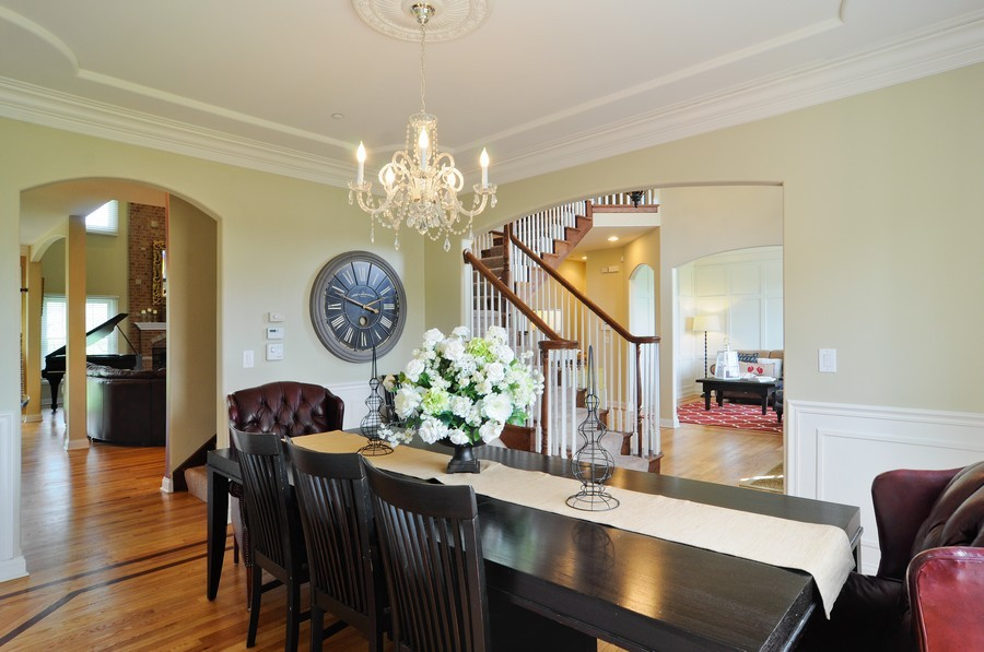 Real Estate Photography - 127 Cranberry Ct, Lake Barrington, IL, 60010 - Foyer/Dining Room
