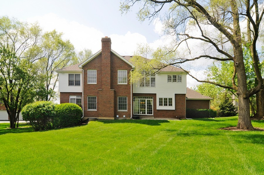 Real Estate Photography - 127 Cranberry Ct, Lake Barrington, IL, 60010 - Rear View