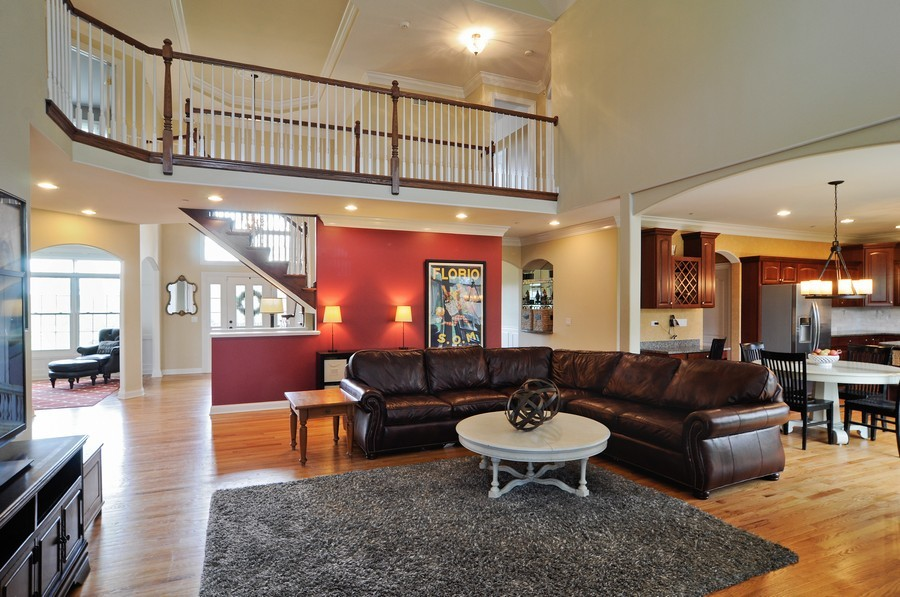 Real Estate Photography - 127 Cranberry Ct, Lake Barrington, IL, 60010 - Family Room / Kitchen