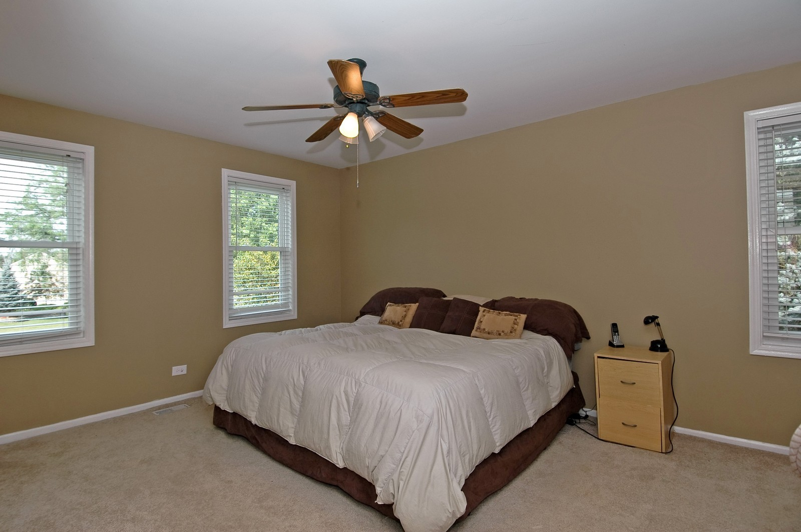 Real Estate Photography - 1055 Meghan Ave, Algonquin, IL, 60102 - Master Bedroom