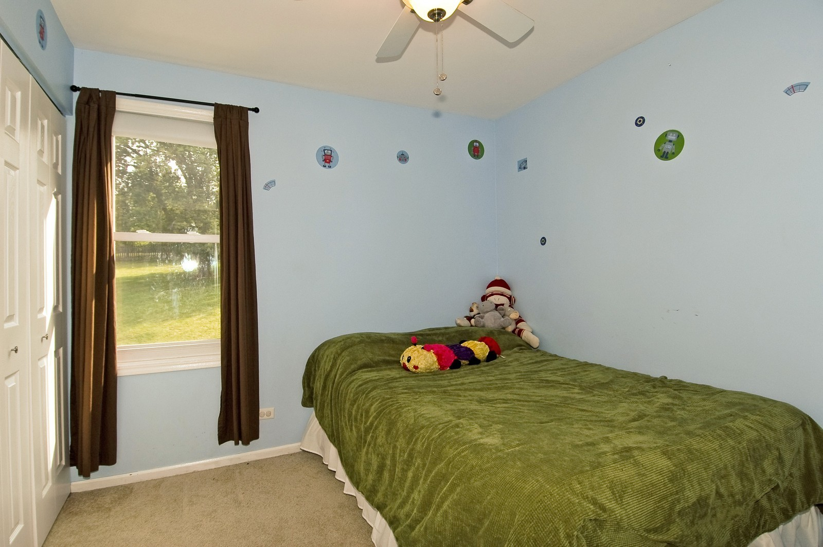Real Estate Photography - 1055 Meghan Ave, Algonquin, IL, 60102 - Bedroom
