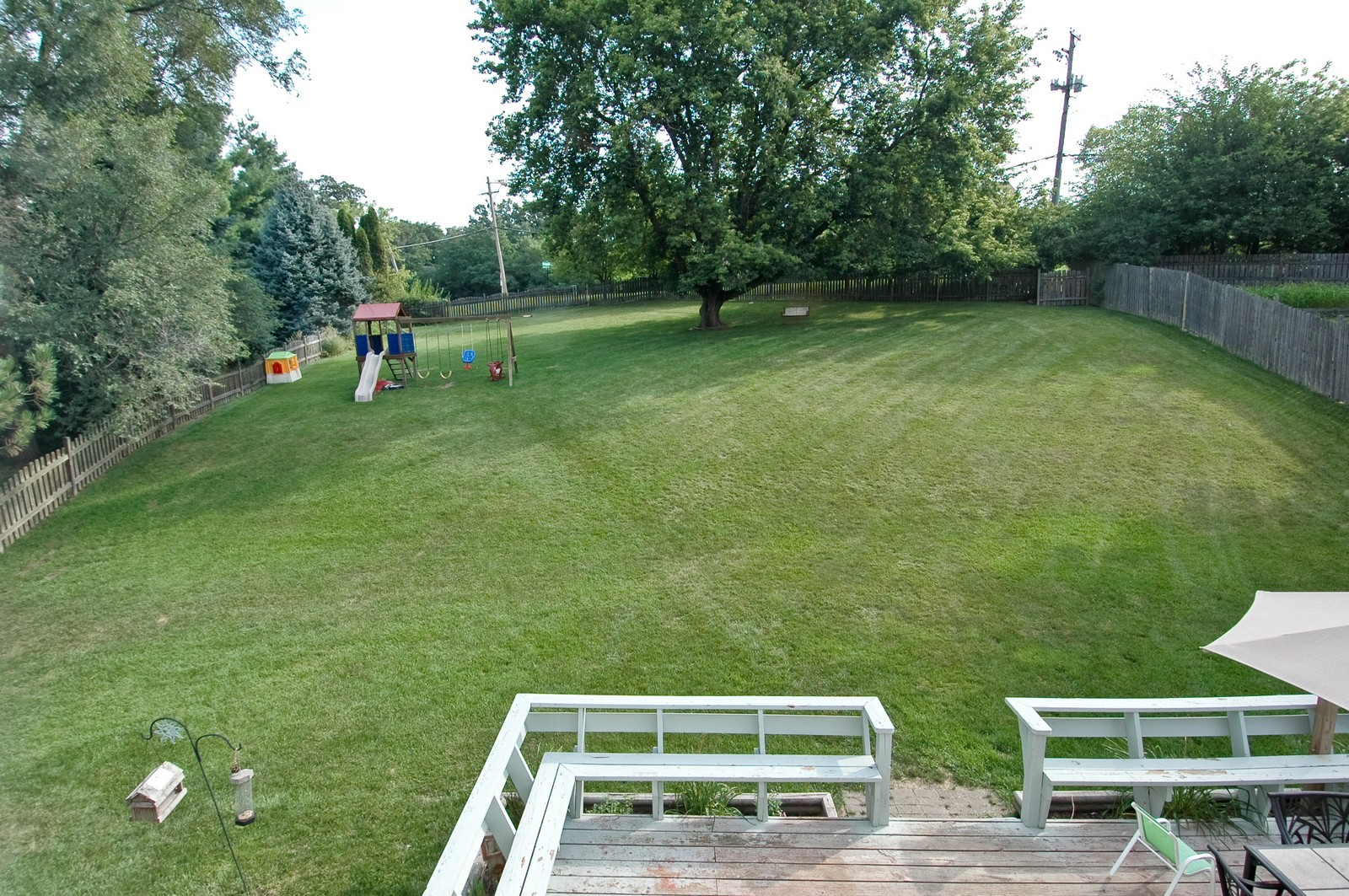 Real Estate Photography - 1055 Meghan Ave, Algonquin, IL, 60102 - Back Yard