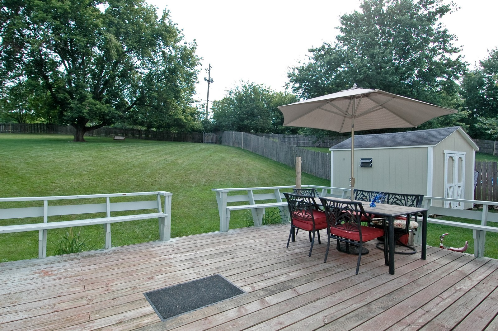 Real Estate Photography - 1055 Meghan Ave, Algonquin, IL, 60102 - Deck