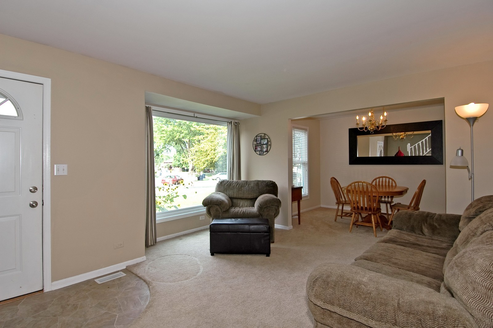 Real Estate Photography - 1055 Meghan Ave, Algonquin, IL, 60102 - Living Room / Dining Room
