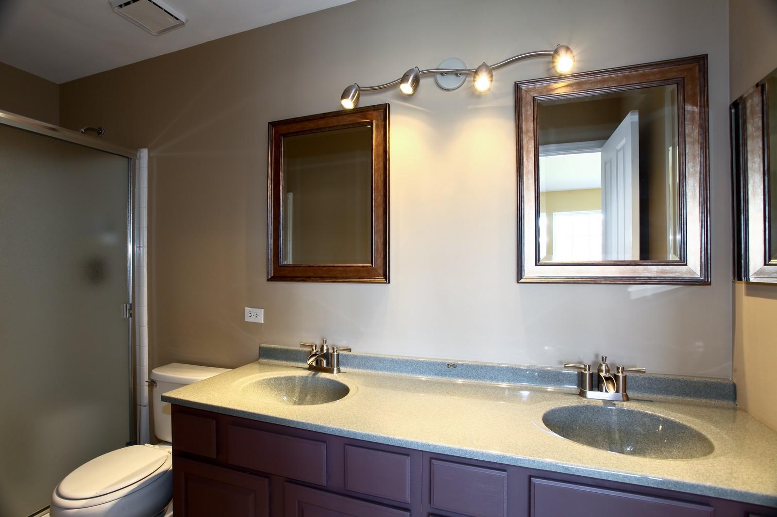 Real Estate Photography - 114 Oakton Dr, Lombard, IL, 60148 - Master Bathroom