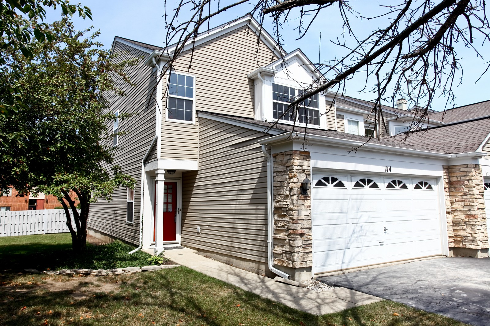 Real Estate Photography - 114 Oakton Dr, Lombard, IL, 60148 - Front View