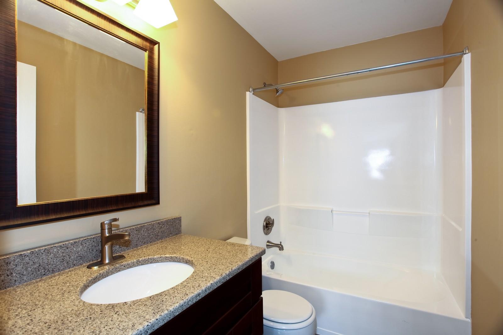 Real Estate Photography - 114 Oakton Dr, Lombard, IL, 60148 - Bathroom