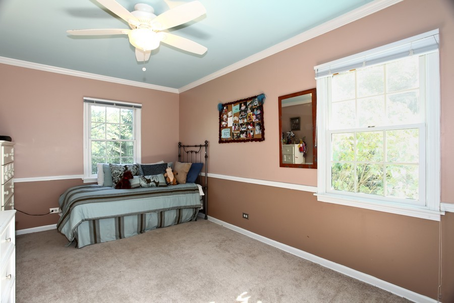 Real Estate Photography - 1525 Almond Ct, DOWNERS GROVE, IL, 60515 - 2nd Bedroom