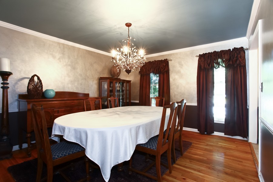 Real Estate Photography - 1525 Almond Ct, DOWNERS GROVE, IL, 60515 - Dining Room