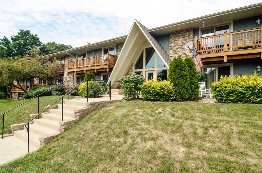 Real Estate Photography - 300 Opatrny Dr, Unit 205, Fox River Grove, IL, 60021 - Front View