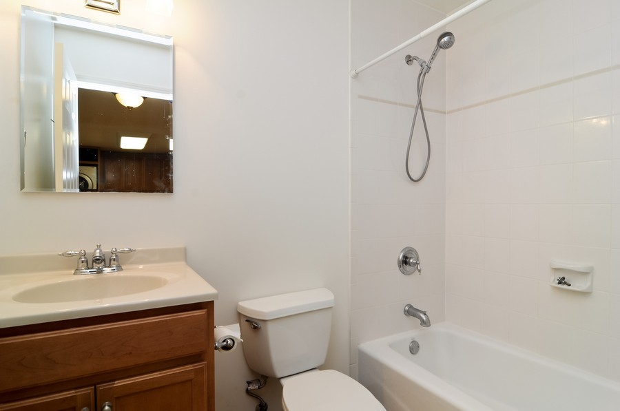 Real Estate Photography - 300 Opatrny Dr, Unit 205, Fox River Grove, IL, 60021 - Bathroom