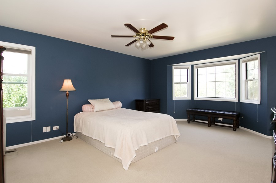 Real Estate Photography - 953 Village, Crystal Lake, IL, 60014 - Master Bedroom