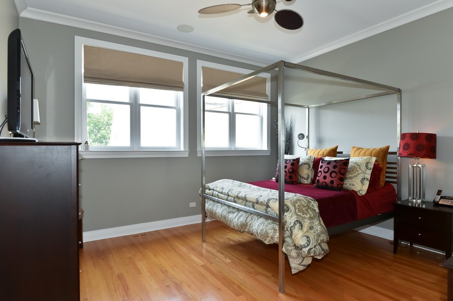 Real Estate Photography - 2512 North Racine Ave, D, CHICAGO, IL, 60614 - Master Bedroom
