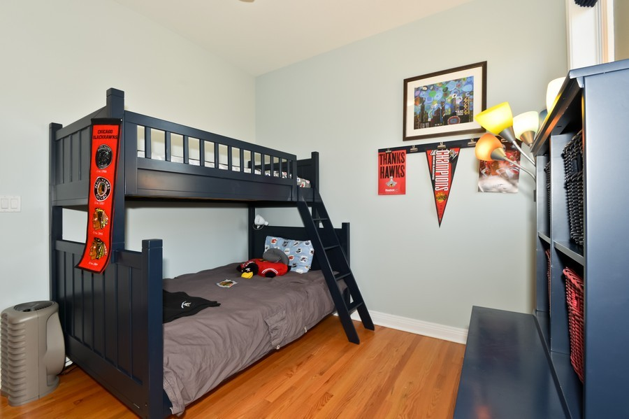 Real Estate Photography - 2512 North Racine Ave, D, CHICAGO, IL, 60614 - 2nd Bedroom