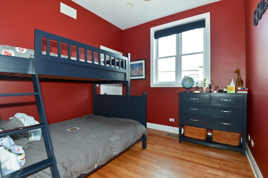 Real Estate Photography - 2512 North Racine Ave, D, CHICAGO, IL, 60614 - 3rd Bedroom