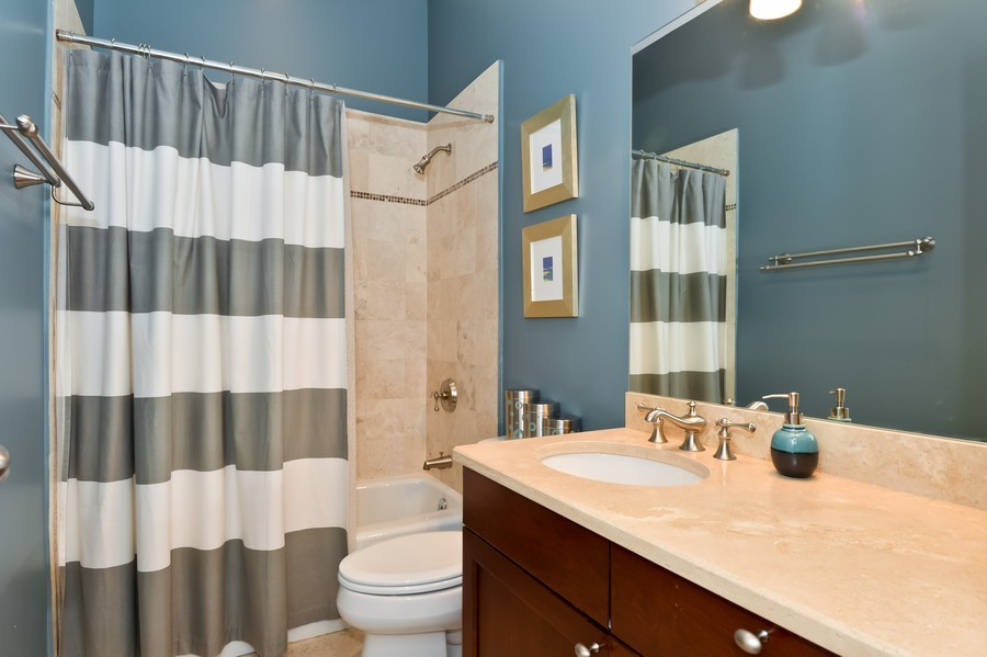 Real Estate Photography - 2512 North Racine Ave, D, CHICAGO, IL, 60614 - 2nd Bathroom